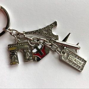 Coach Paris Keychain Charms